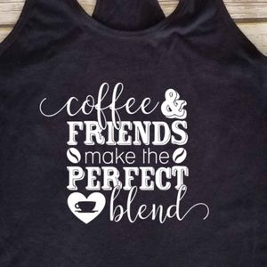 Coffee & Friends Make the Perfect Blend tank top